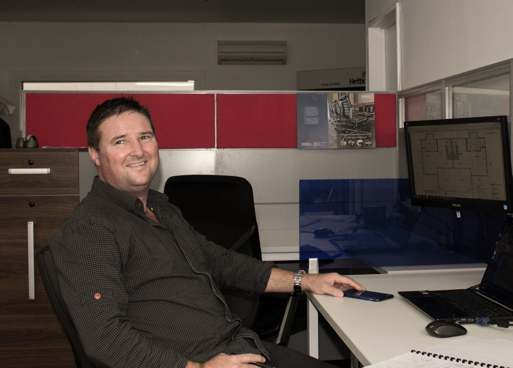 Hamish of Commercial Fitout Furniture NZ